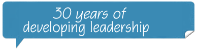 25 years dedicated to developing leadership